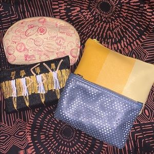 Four Ipsy bags